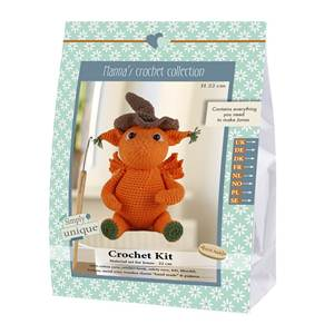 KIT CROCHET HELMUT & FRIENDS COLLECTION - JONAS - 22 CM