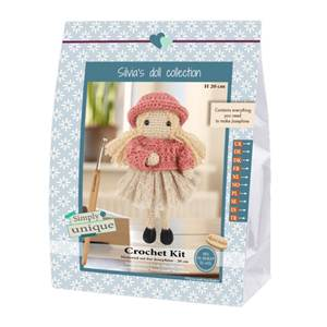 KIT SMALL GIRLS - CROCHET COLLECTION - JOSEPHINE -20 CM