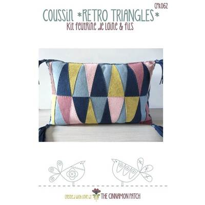 KIT COUSSIN RETRO TRIANGLE PILLOW