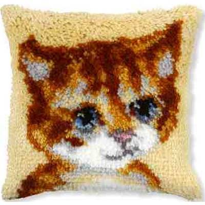 KIT COUSSIN POINT NOUE 25.5 X 25.5 CM - PETIT CHAT
