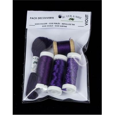 PACK DECOUVERTE OVALE/SURFINE - VIOLET